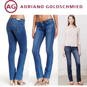 {AG} Adriano Goldschmied Ballad Slim Boot Jeans
